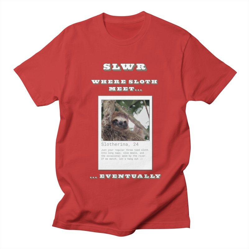 Slwr: Where Sloth Meet Men's T-Shirt by slothcrew's Artist Shop