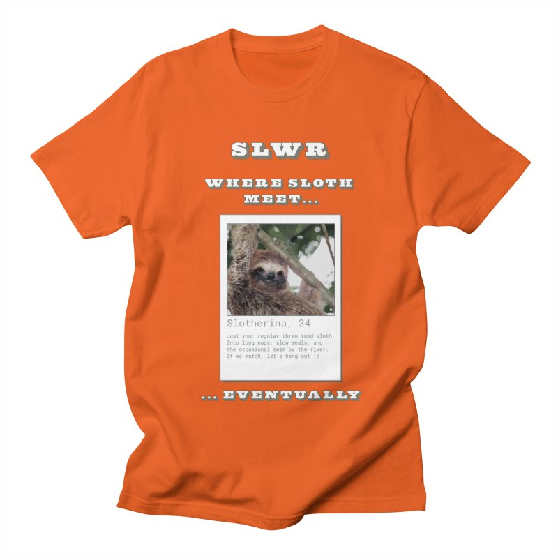 Slwr: Where Sloth Meet Men's T-Shirt by slothcrew's Artist Shop