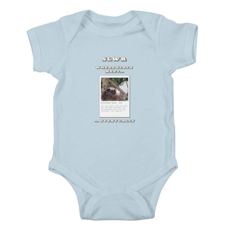 Slwr: Where Sloth Meet Kids Baby Bodysuit by slothcrew's Artist Shop