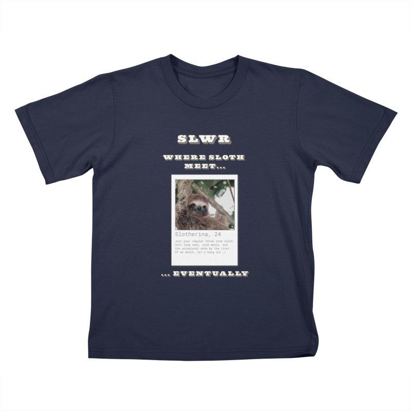 Slwr: Where Sloth Meet Kids T-Shirt by slothcrew's Artist Shop