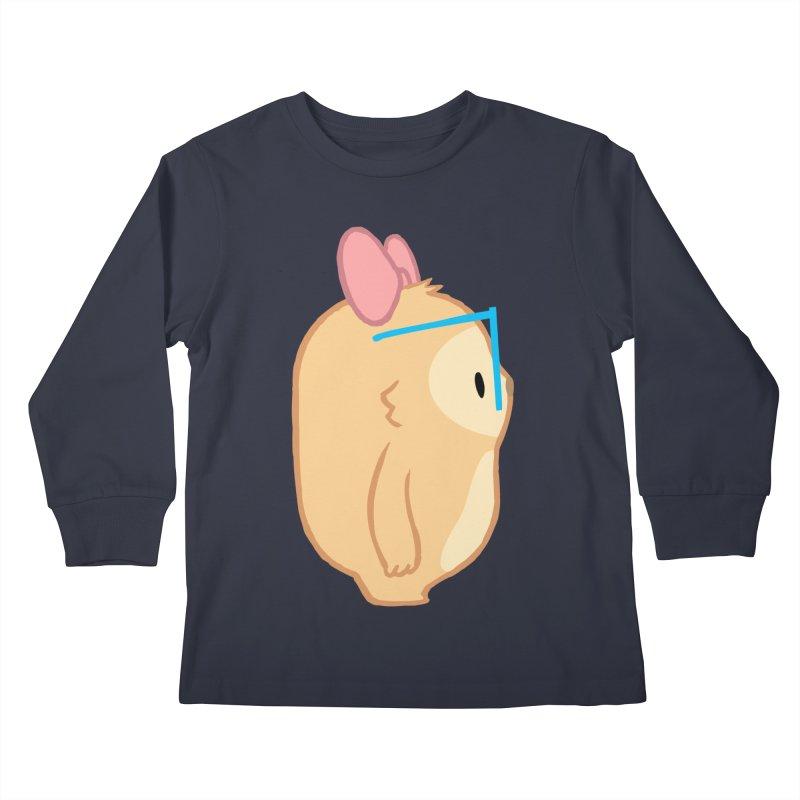 Slothilda Profile Kids Longsleeve T-Shirt by SLOTHILDA