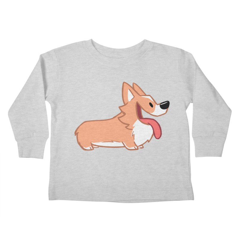Peanut Kids Toddler Longsleeve T-Shirt by SLOTHILDA