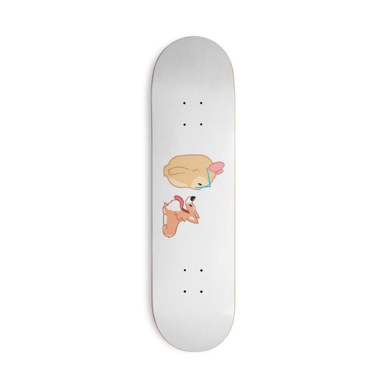 Slothilda & Peanut Accessories Deck Only Skateboard by SLOTHILDA