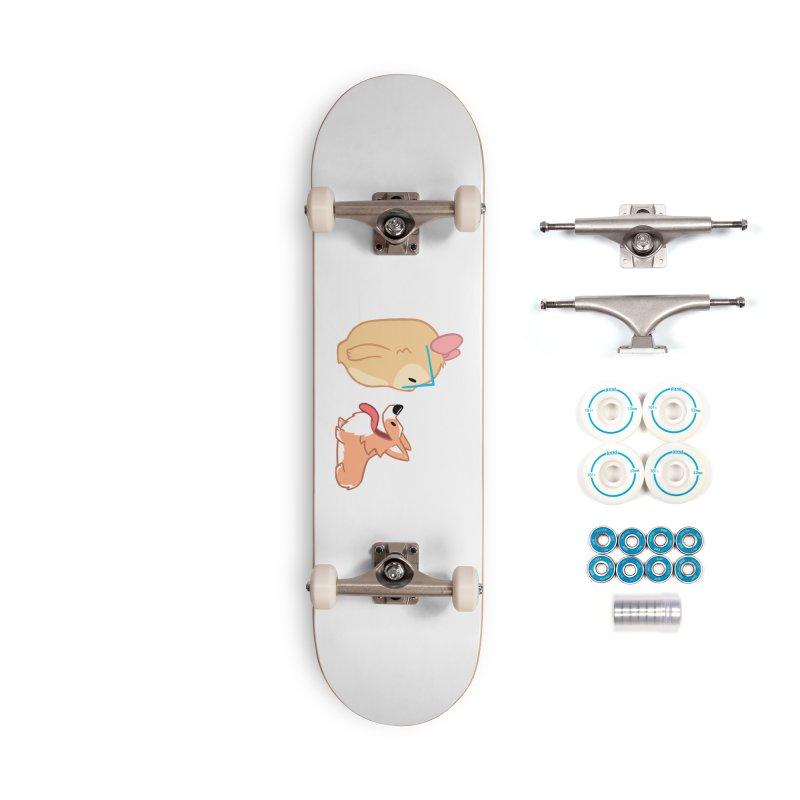 Slothilda & Peanut Accessories Complete - Basic Skateboard by SLOTHILDA