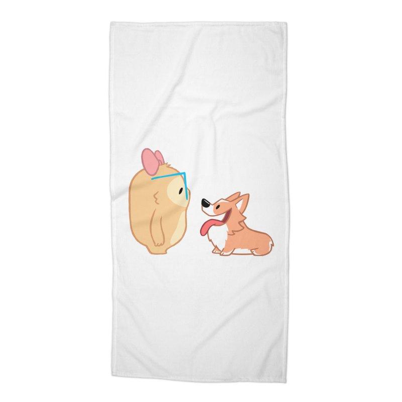 Slothilda & Peanut Accessories Beach Towel by SLOTHILDA