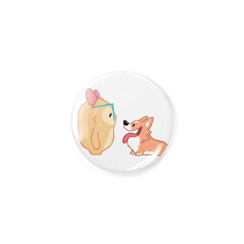 Slothilda & Peanut Accessories Button by SLOTHILDA