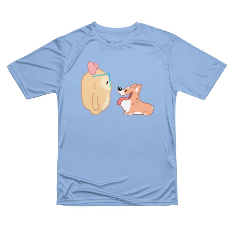 Slothilda & Peanut Men's T-Shirt by SLOTHILDA