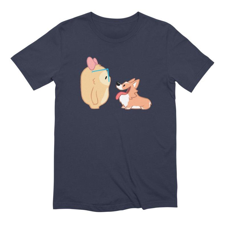 Slothilda & Peanut Men's Extra Soft T-Shirt by SLOTHILDA