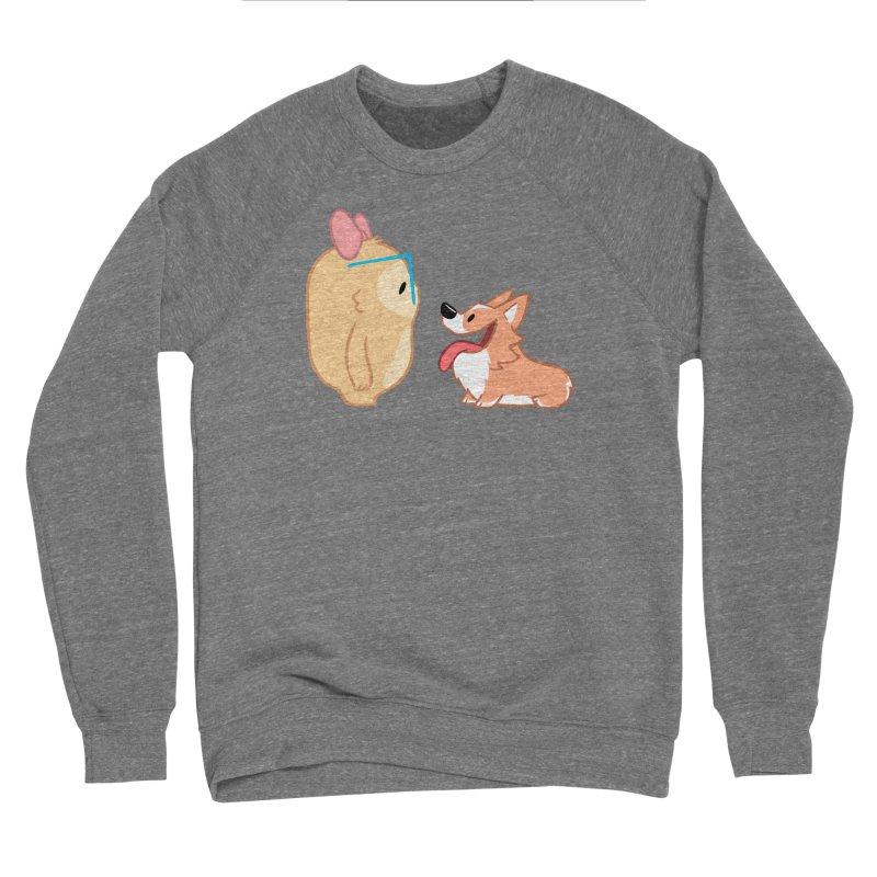 Slothilda & Peanut Men's Sponge Fleece Sweatshirt by SLOTHILDA
