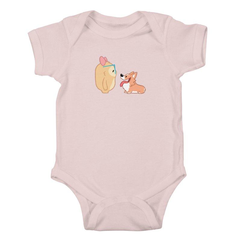 Slothilda & Peanut Kids Baby Bodysuit by SLOTHILDA