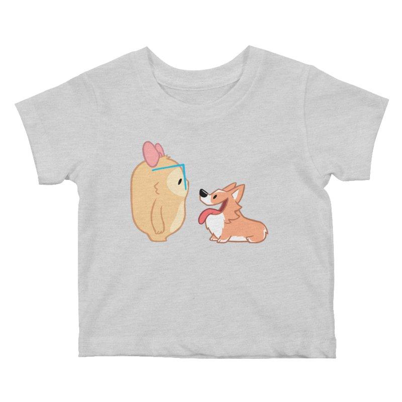 Slothilda & Peanut Kids Baby T-Shirt by SLOTHILDA