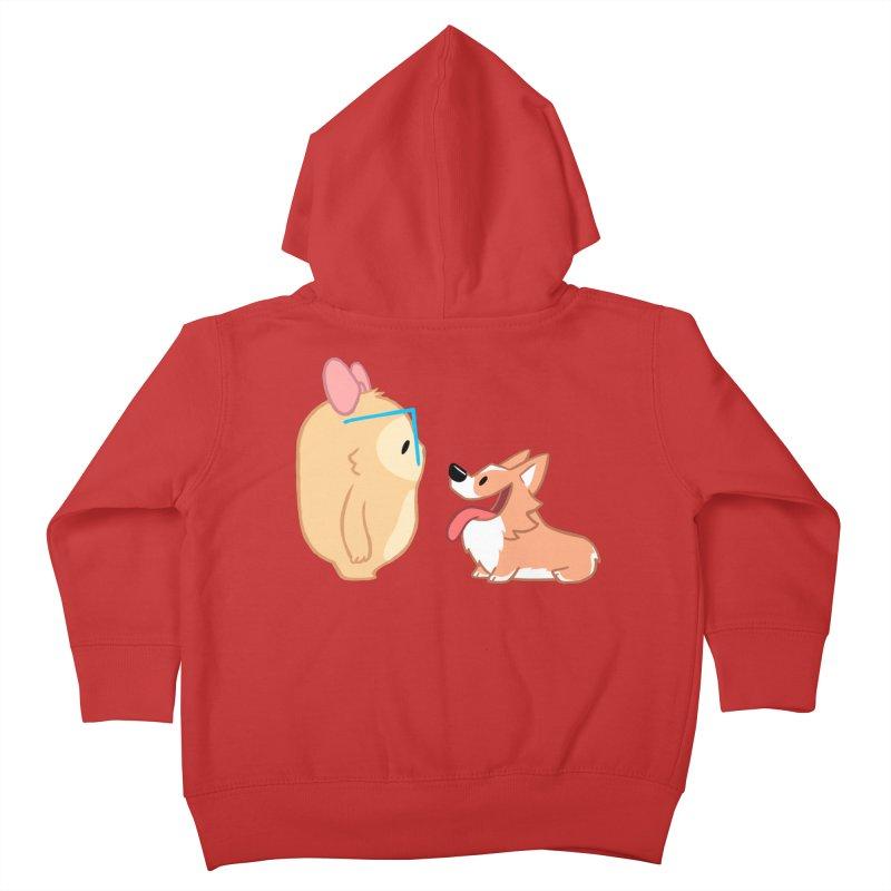 Slothilda & Peanut Kids Toddler Zip-Up Hoody by SLOTHILDA