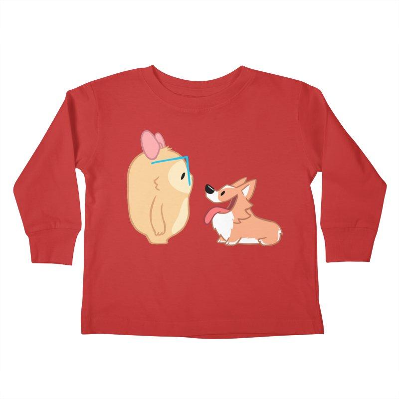 Slothilda & Peanut Kids Toddler Longsleeve T-Shirt by SLOTHILDA
