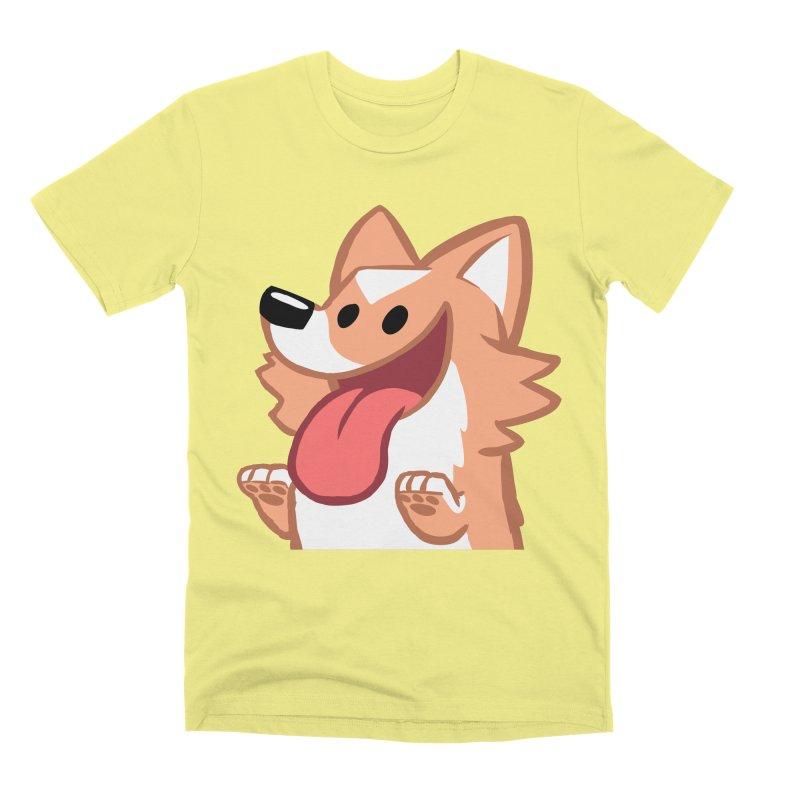 Peanut Face Men's T-Shirt by SLOTHILDA