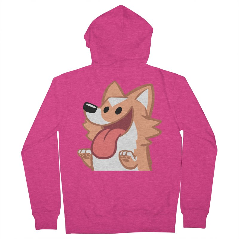Peanut Face Women's French Terry Zip-Up Hoody by SLOTHILDA