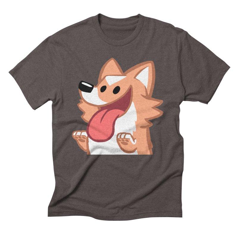 Peanut Face Men's Triblend T-Shirt by SLOTHILDA