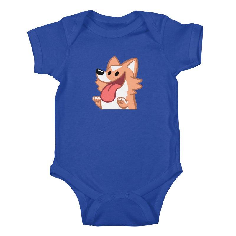 Peanut Face Kids Baby Bodysuit by SLOTHILDA