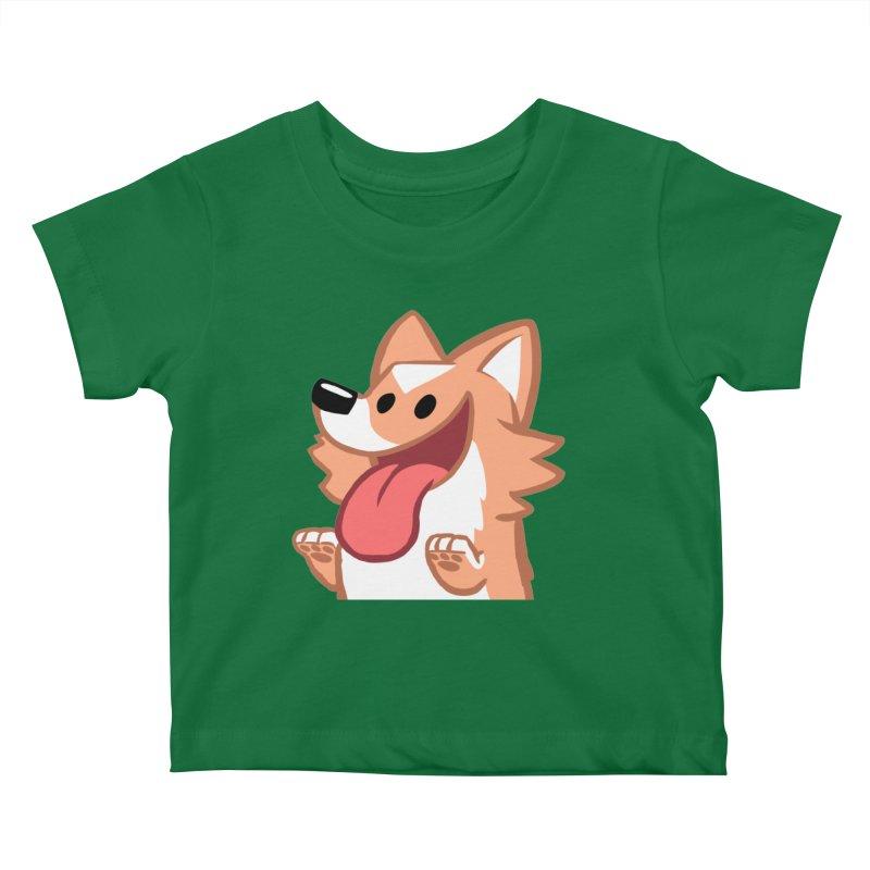 Peanut Face Kids Baby T-Shirt by SLOTHILDA
