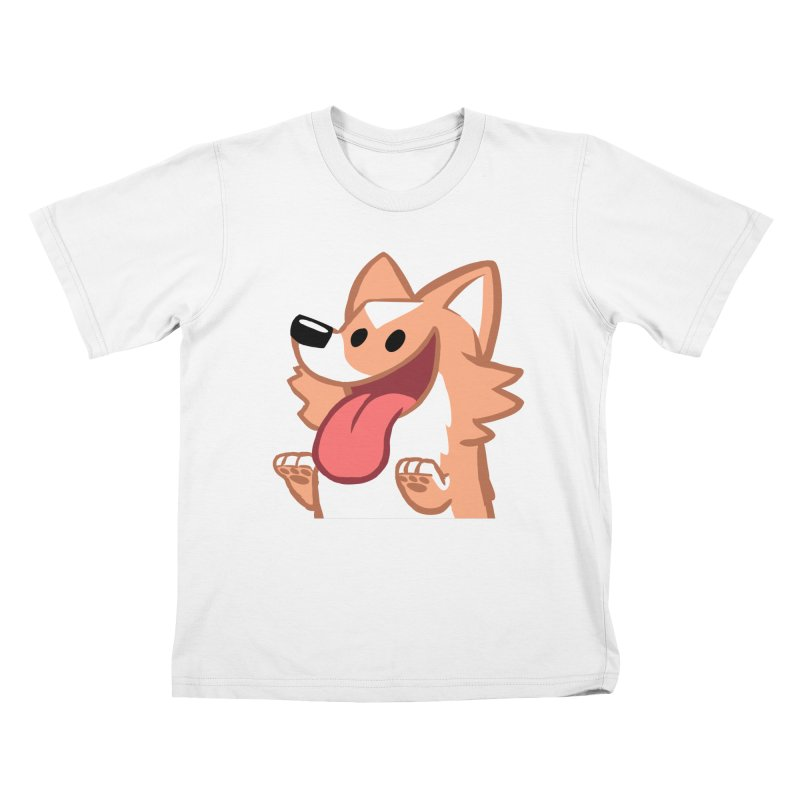 Peanut Face Kids T-Shirt by SLOTHILDA
