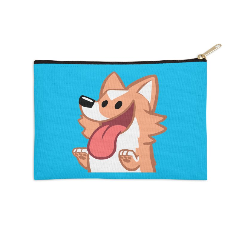 Peanut Face Accessories Zip Pouch by SLOTHILDA