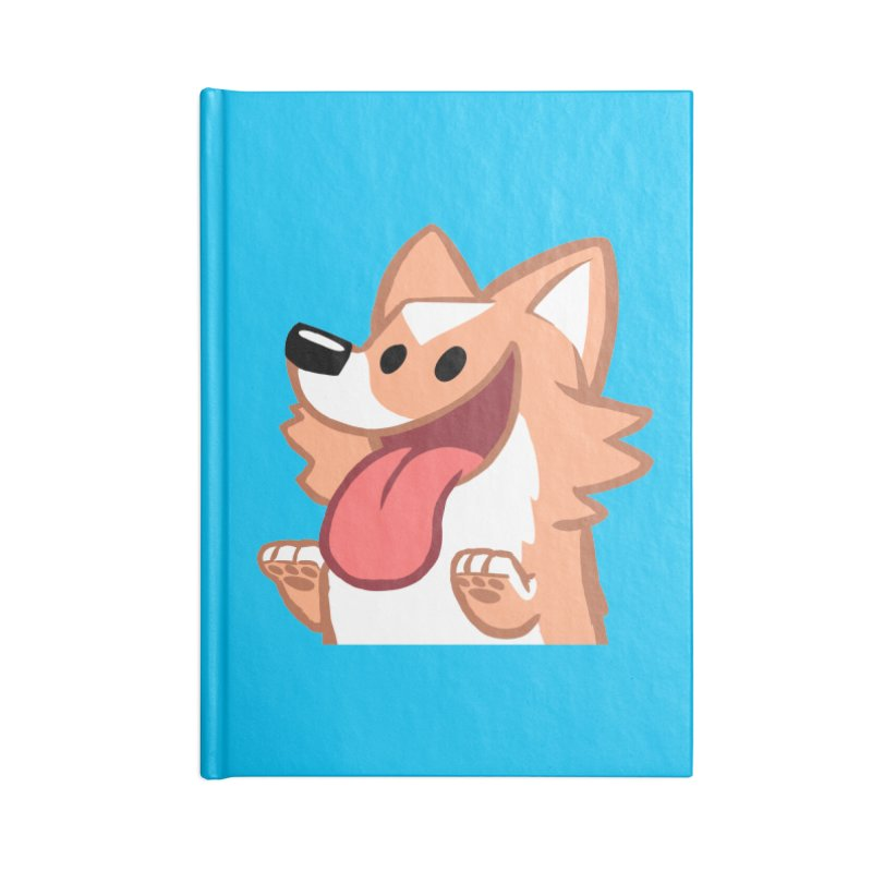 Peanut Face Accessories Lined Journal Notebook by SLOTHILDA
