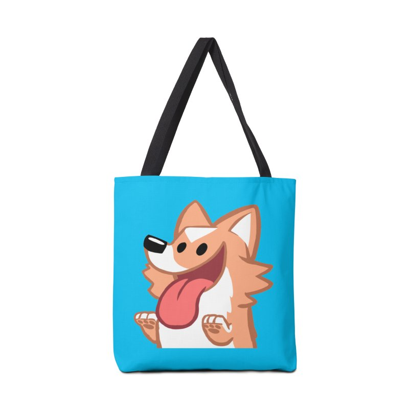 Peanut Face Accessories Tote Bag Bag by SLOTHILDA