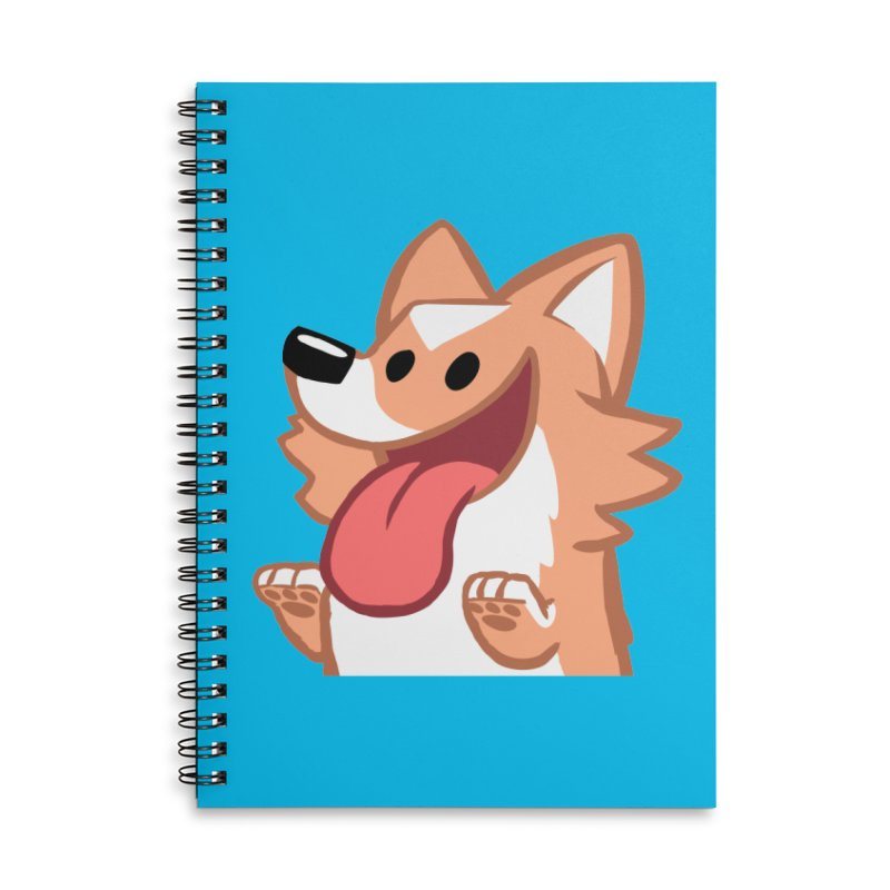 Peanut Face Accessories Lined Spiral Notebook by SLOTHILDA