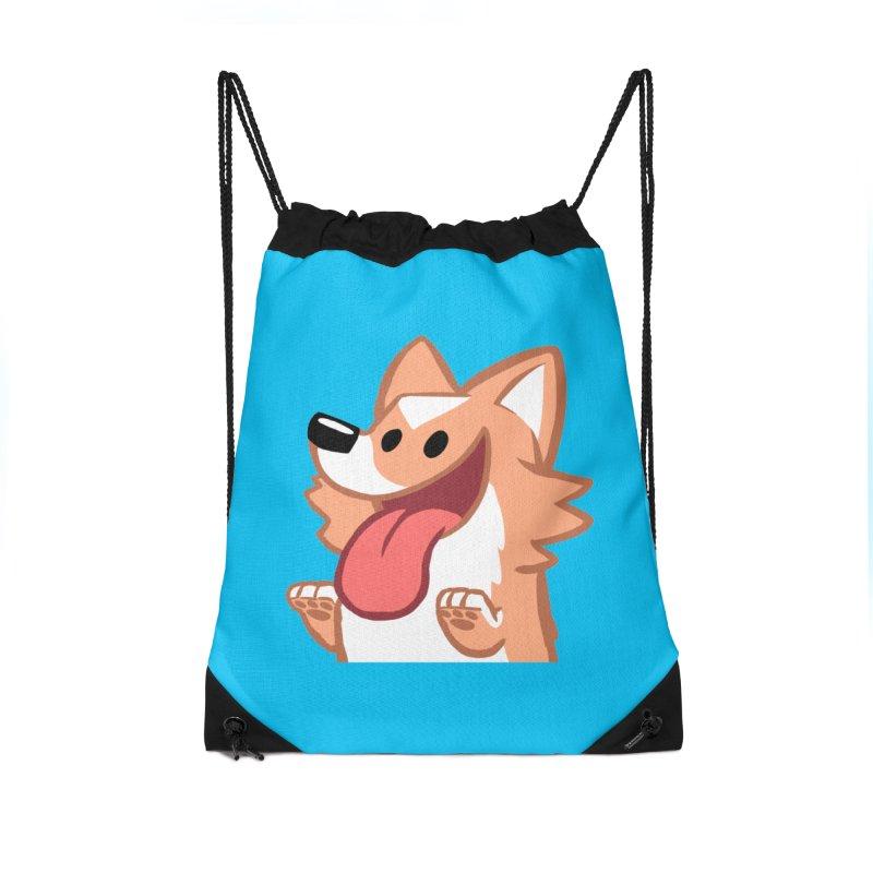 Peanut Face Accessories Drawstring Bag Bag by SLOTHILDA
