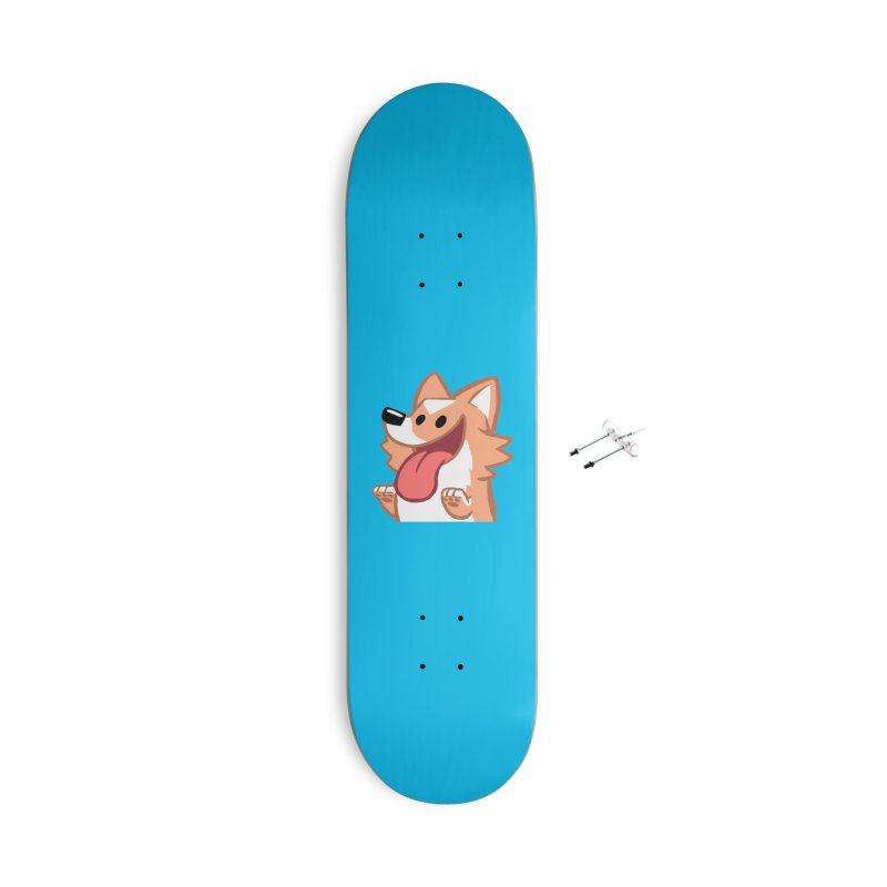 Peanut Face Accessories With Hanging Hardware Skateboard by SLOTHILDA