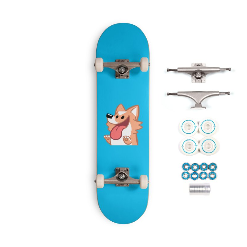 Peanut Face Accessories Complete - Basic Skateboard by SLOTHILDA