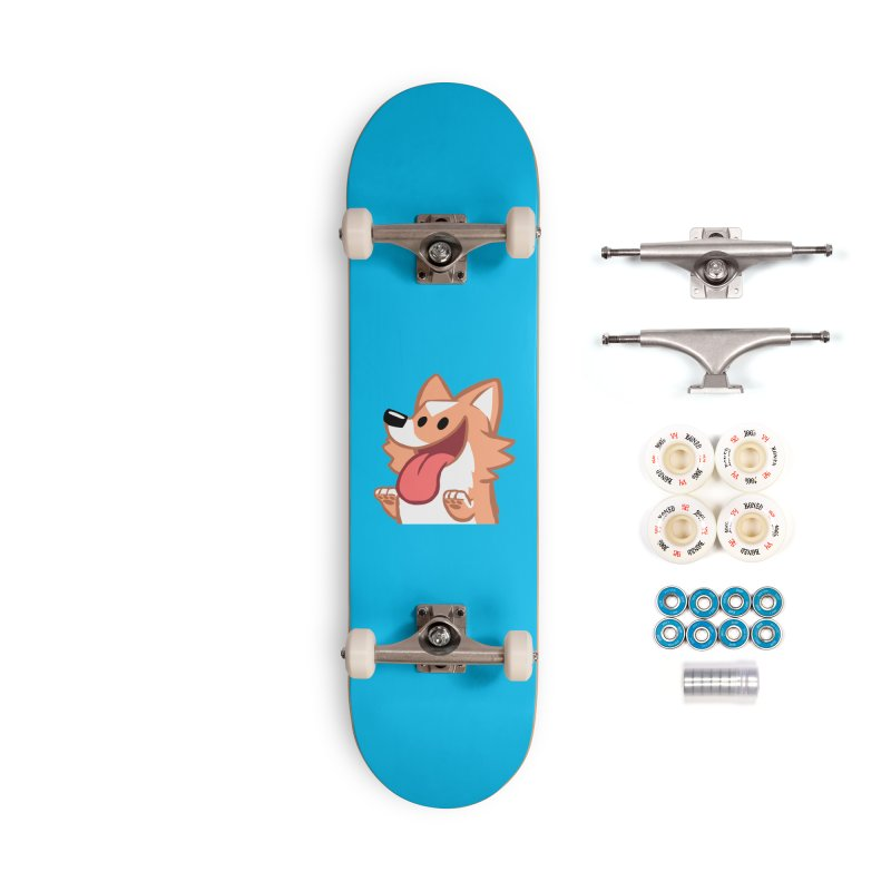 Peanut Face Accessories Complete - Premium Skateboard by SLOTHILDA