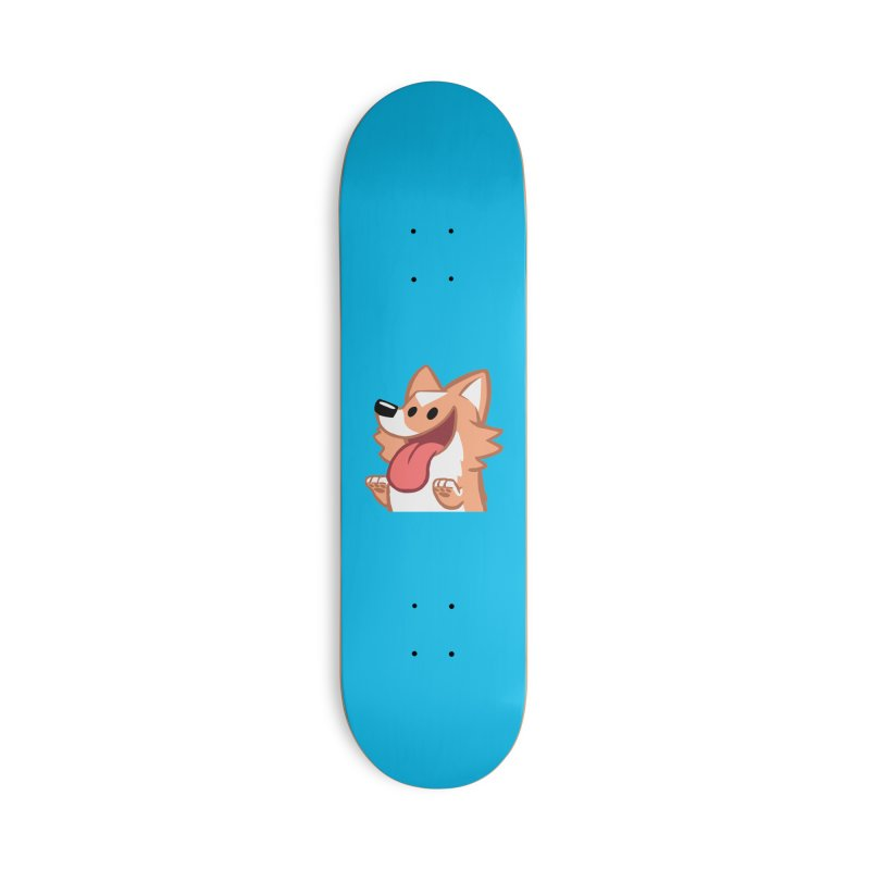 Peanut Face Accessories Deck Only Skateboard by SLOTHILDA
