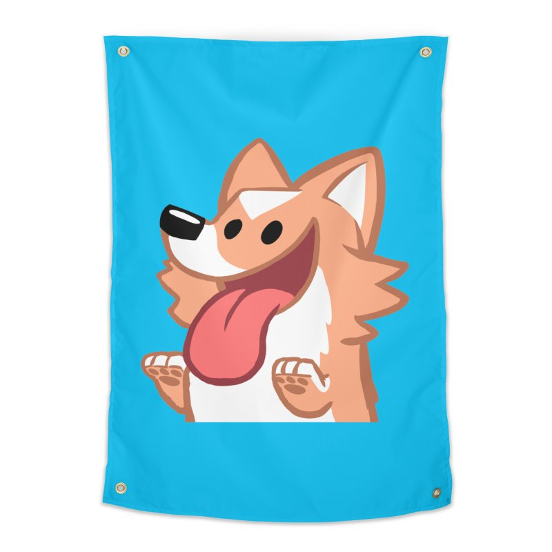 Peanut Face Home Tapestry by SLOTHILDA