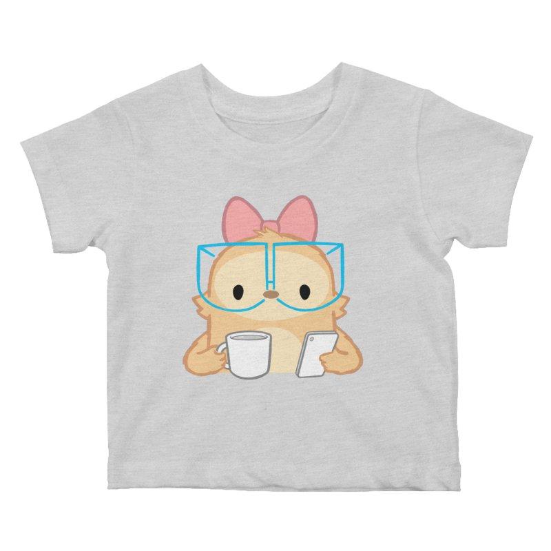 Slothilda Kids Baby T-Shirt by SLOTHILDA