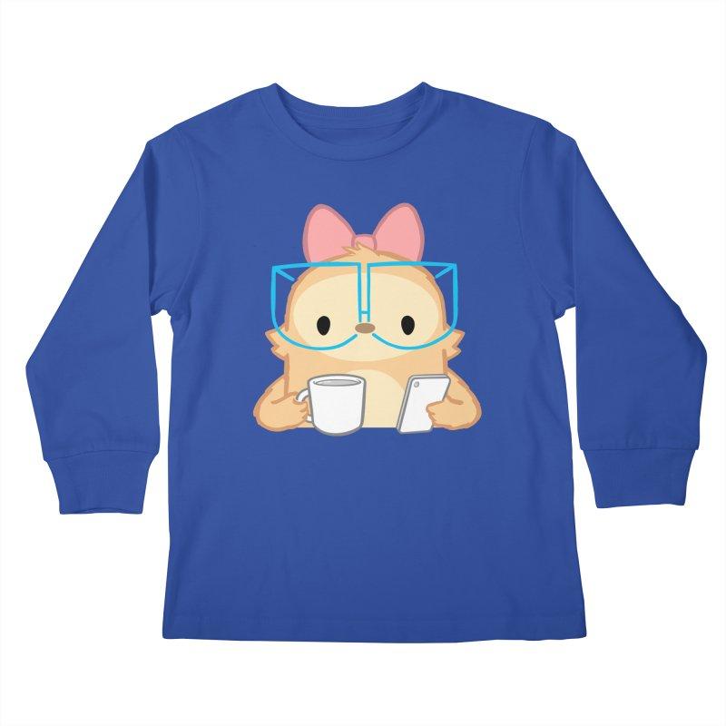 Slothilda Kids Longsleeve T-Shirt by SLOTHILDA