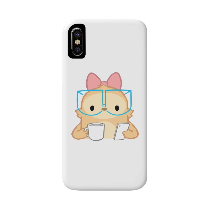 Slothilda in iPhone X / XS Phone Case Slim by SLOTHILDA