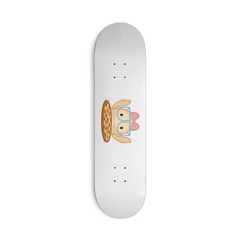 Slothilda & Pizza Accessories Deck Only Skateboard by SLOTHILDA