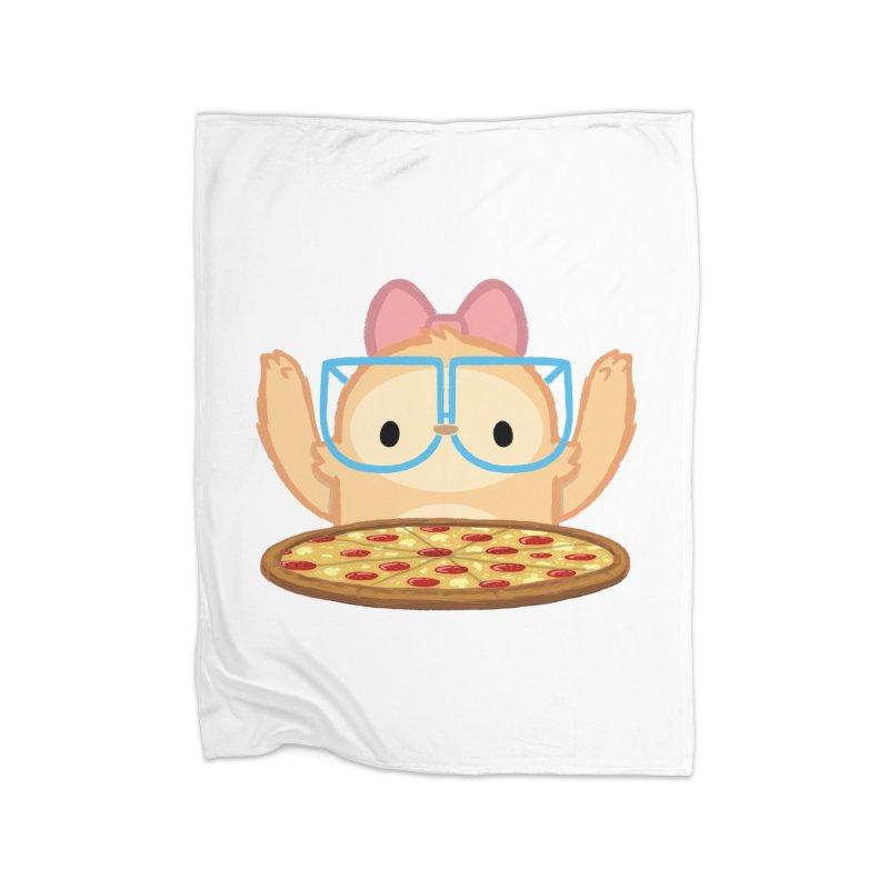 Slothilda & Pizza Home Blanket by SLOTHILDA