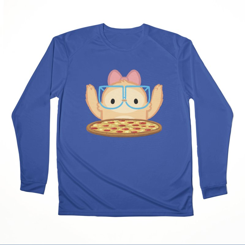 Slothilda & Pizza Men's Performance Longsleeve T-Shirt by SLOTHILDA