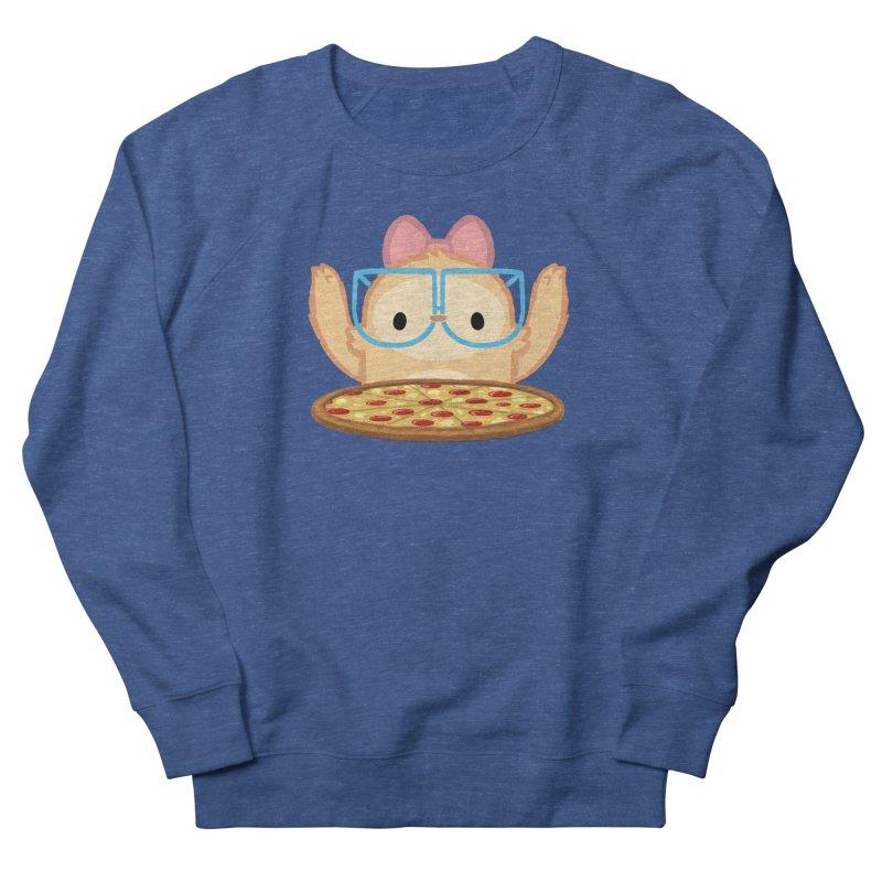 Slothilda & Pizza Men's Sweatshirt by SLOTHILDA