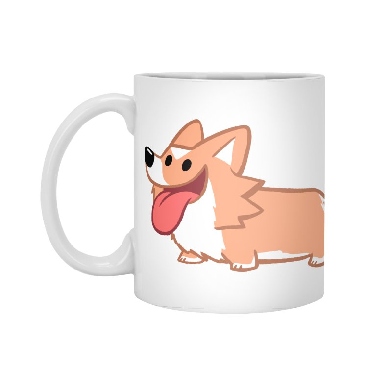 Peanut The Corgi Accessories Standard Mug by SLOTHILDA