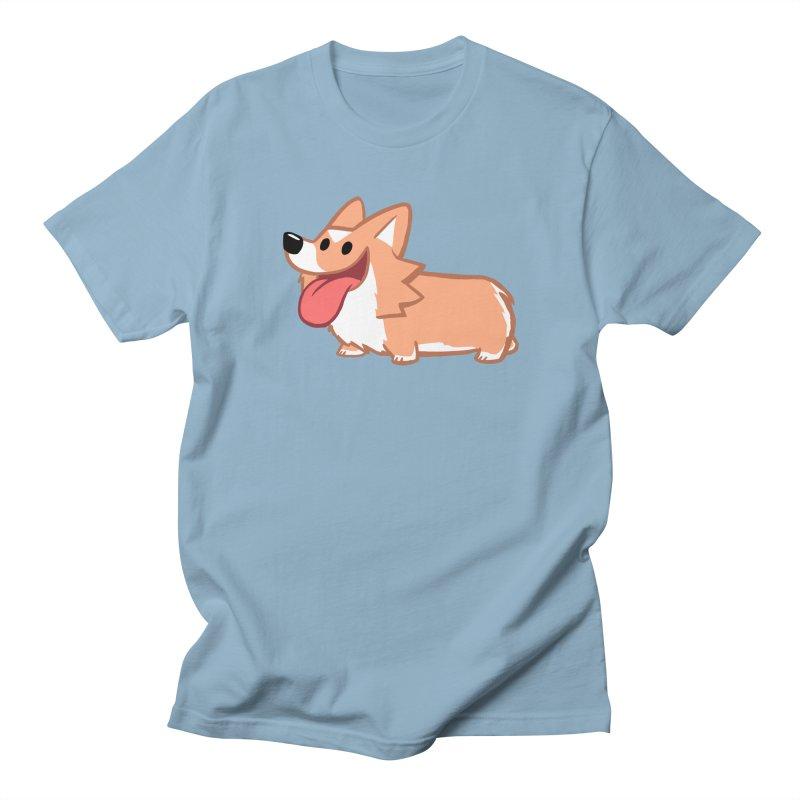 Peanut The Corgi Women's Regular Unisex T-Shirt by SLOTHILDA