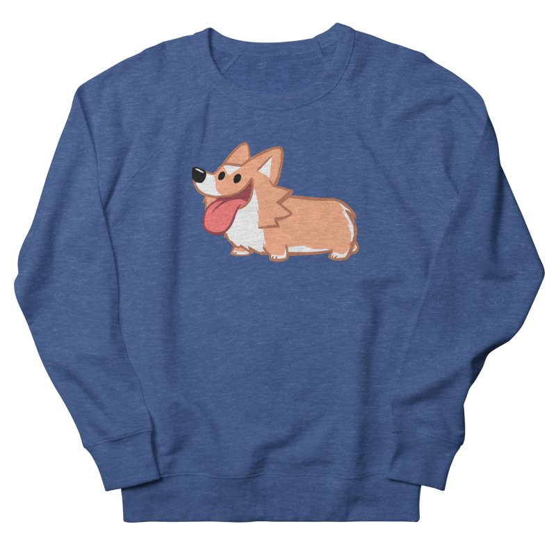 Peanut The Corgi Men's Sweatshirt by SLOTHILDA