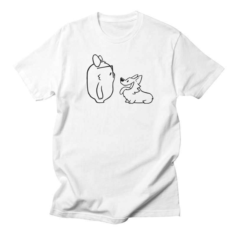 Slothilda & Peanut Outline Women's T-Shirt by SLOTHILDA
