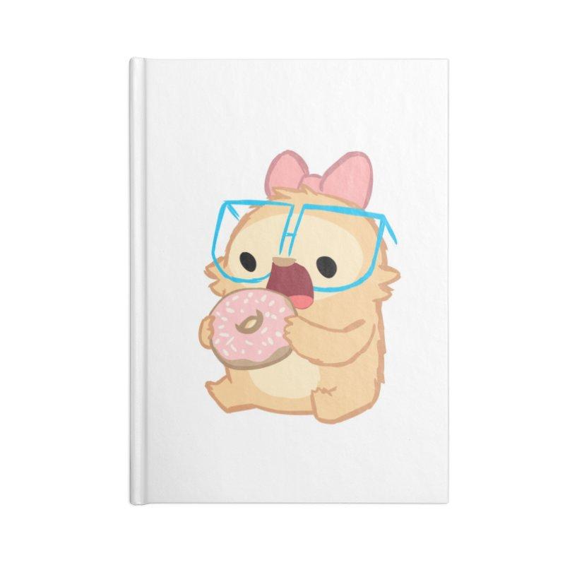 Doughnut Accessories Blank Journal Notebook by SLOTHILDA