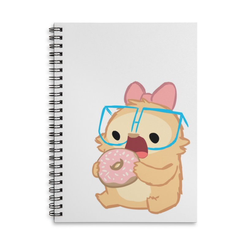 Doughnut Accessories Lined Spiral Notebook by SLOTHILDA