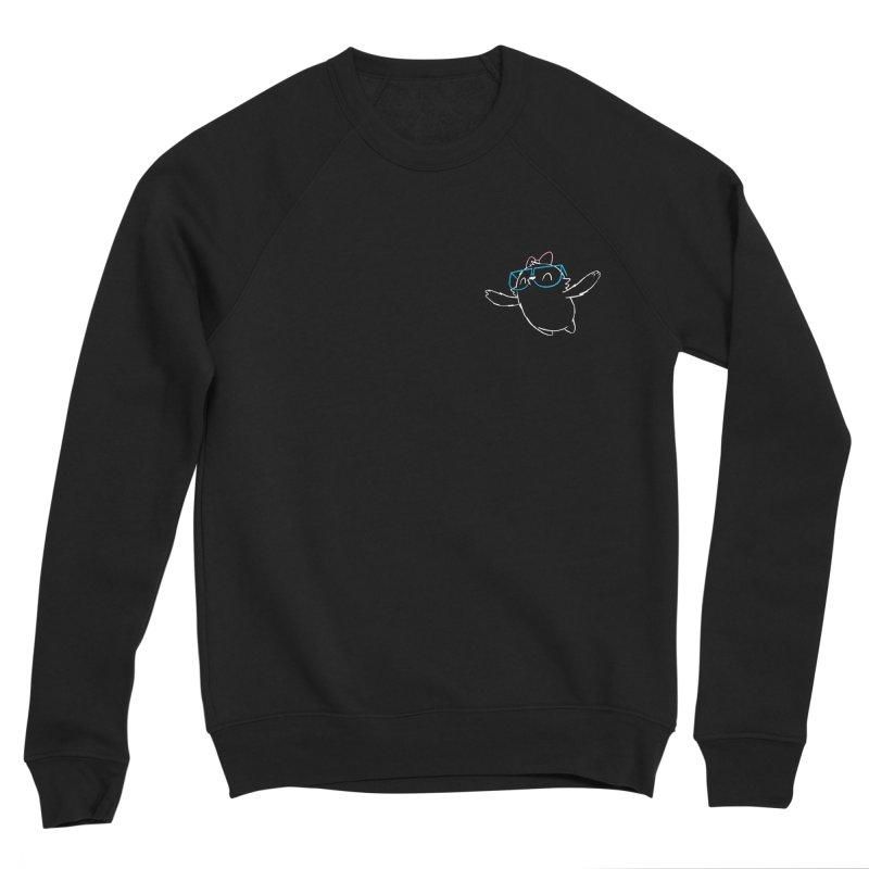 Spirit Animal - Outline Men's Sponge Fleece Sweatshirt by SLOTHILDA