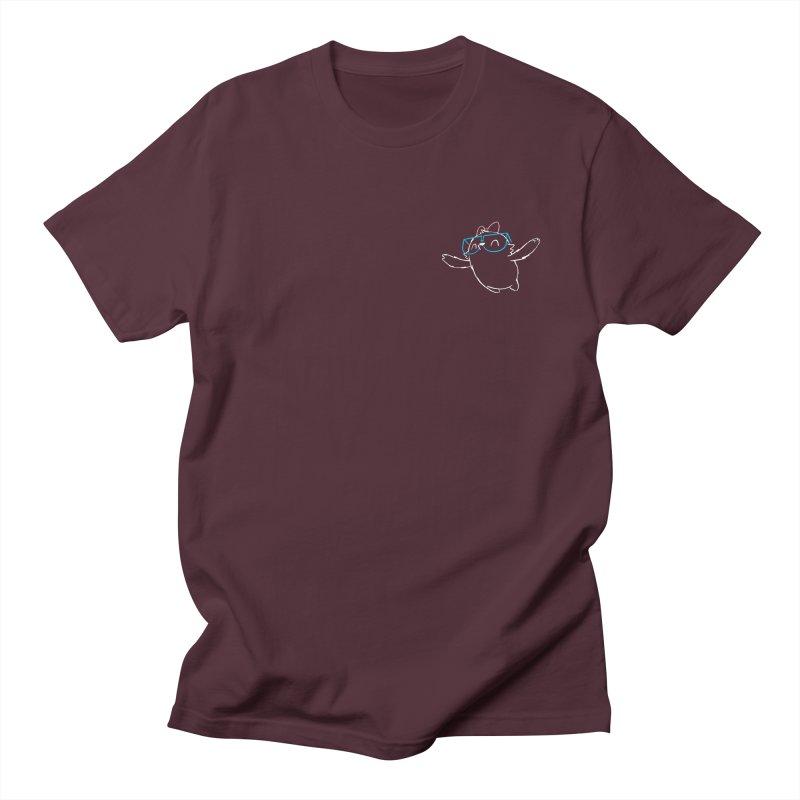 Spirit Animal - Outline Men's Regular T-Shirt by SLOTHILDA