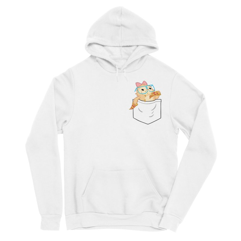 Pizza Pocket Women's Sponge Fleece Pullover Hoody by SLOTHILDA