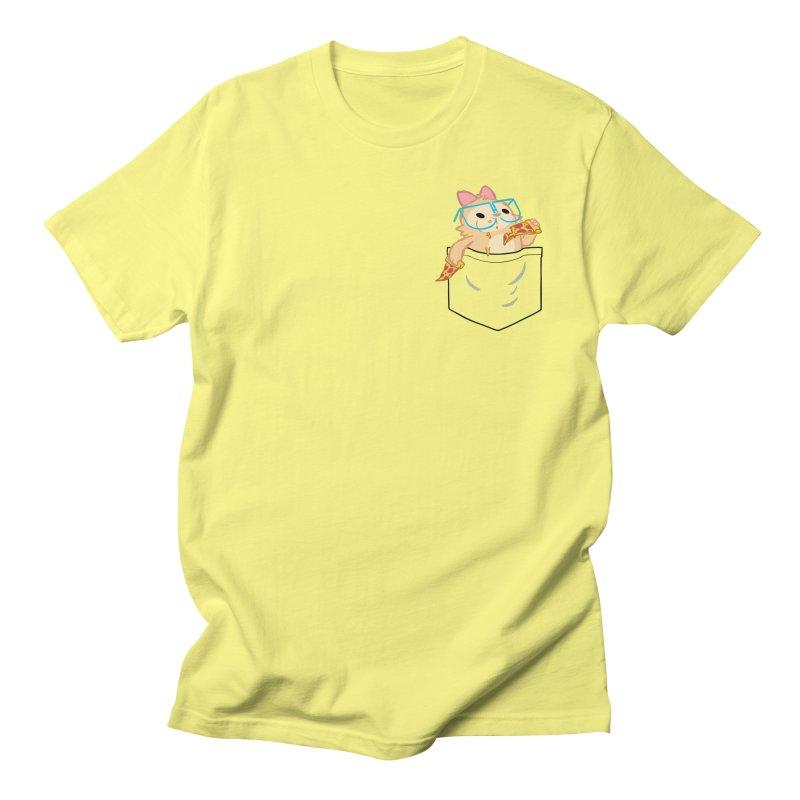 Pizza Pocket Men's Regular T-Shirt by SLOTHILDA